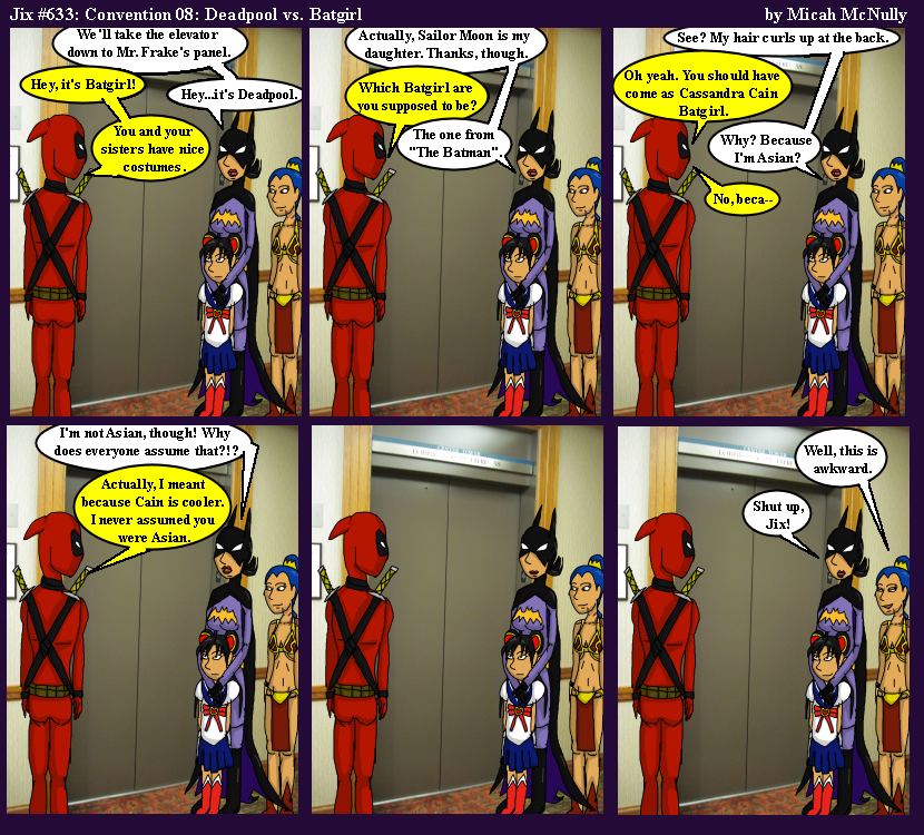 633. Convention 08: Deadpool vs. Batgirl
