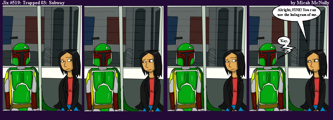 519. Trapped 03: Subway