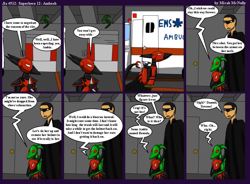 512. Superhero 12: Ambush