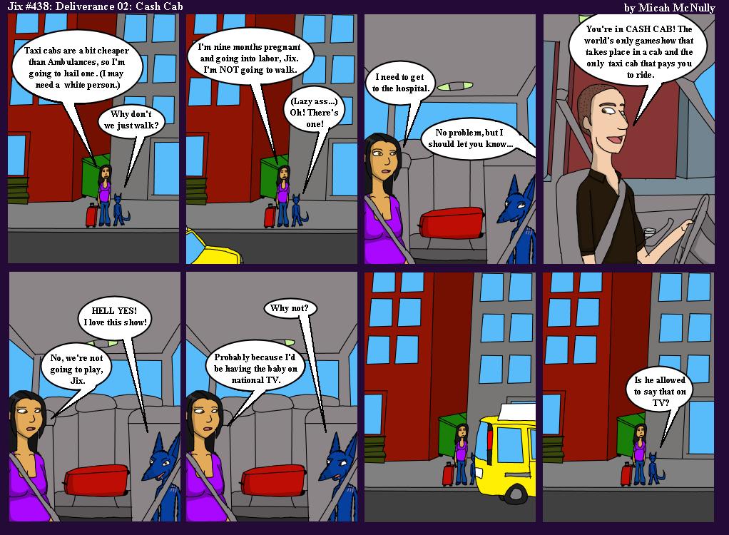 438. Deliverance 02: Cash Cab