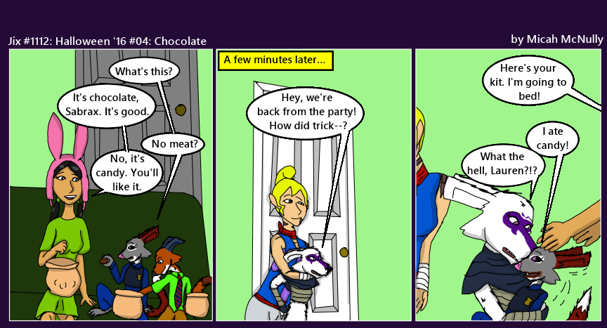 1112. Halloween '16 #04: Chocolate