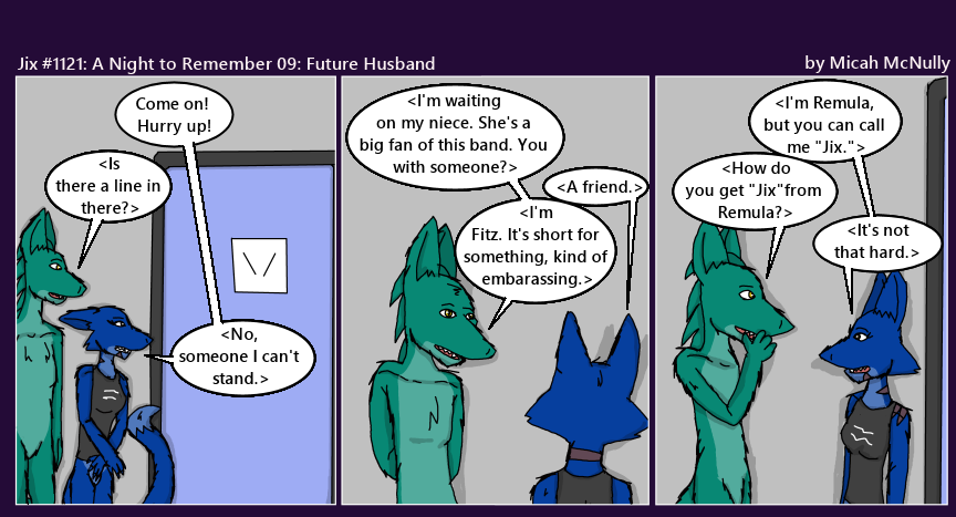 1121. A Night to Remember 09: Future Husband