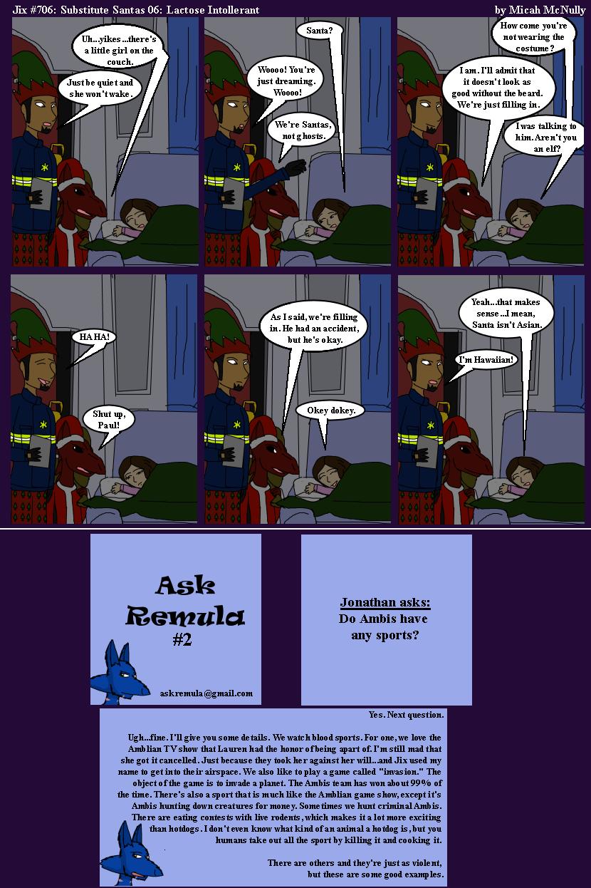 706. Substitute Santas 06: Lactose Intolerant (With Ask Remula 02)