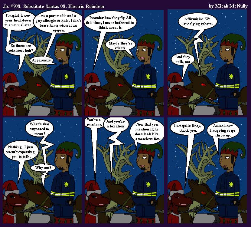 708. Substitute Santas 08: Reindeer
