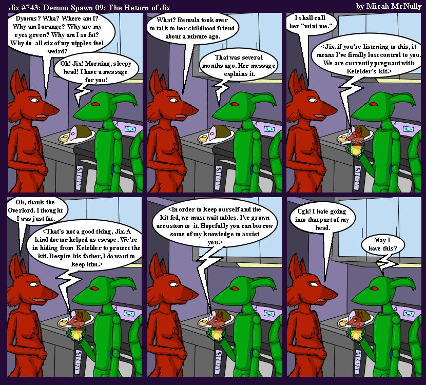 743. Demon Spawn 09: The Return of Jix
