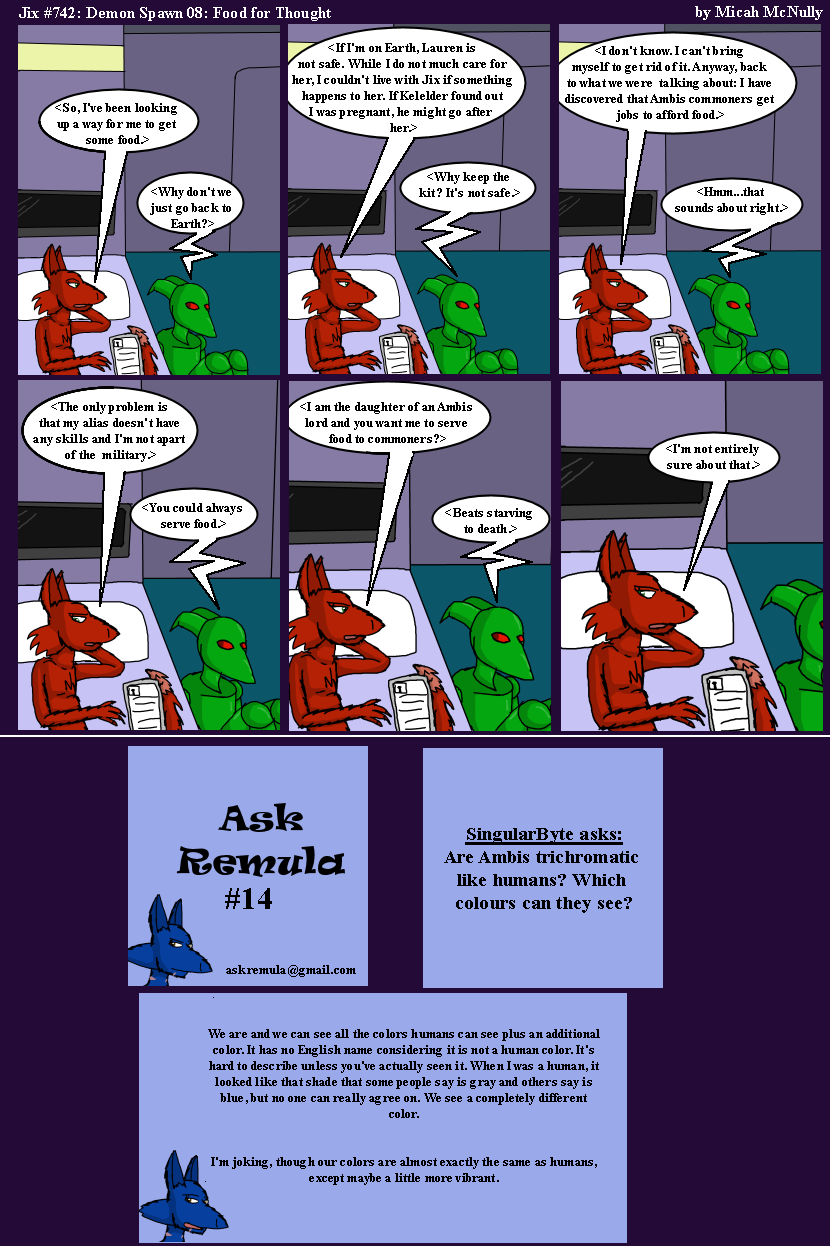 742. Demon Spawn 08: Food for Thought (With Ask Remula 14)