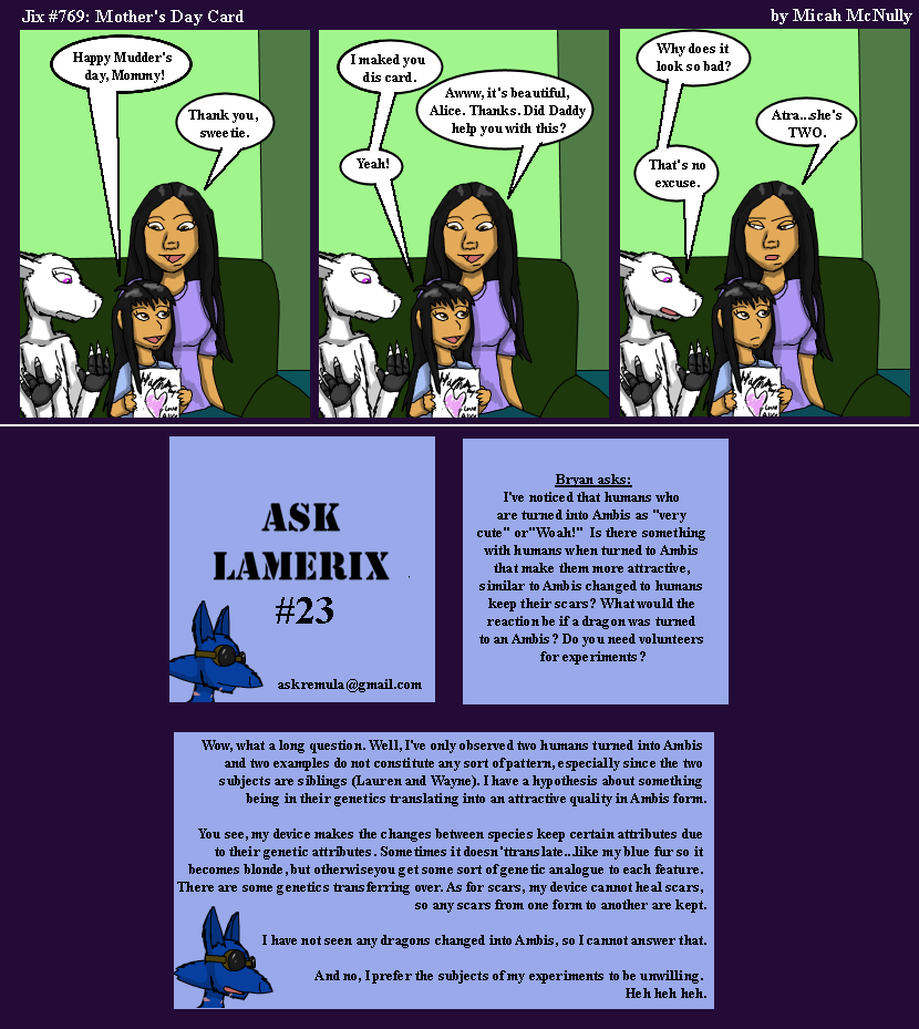 769. Mother's Day Card (With Ask Remula 23)