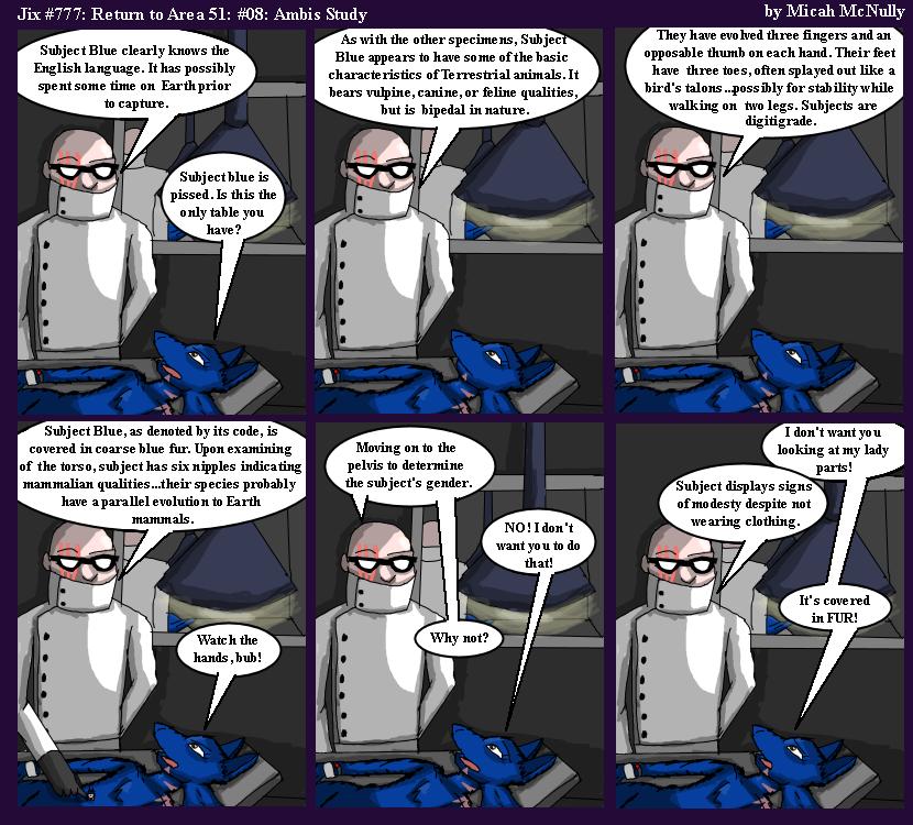 777. Return to Area 51 #08: Ambis Study