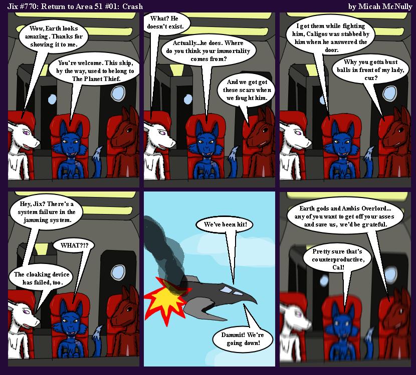 770. Return to Area 51 #01: Crash