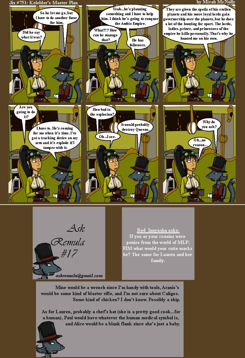 751. Kelelder's Master Plan (With Ask Remula 17)