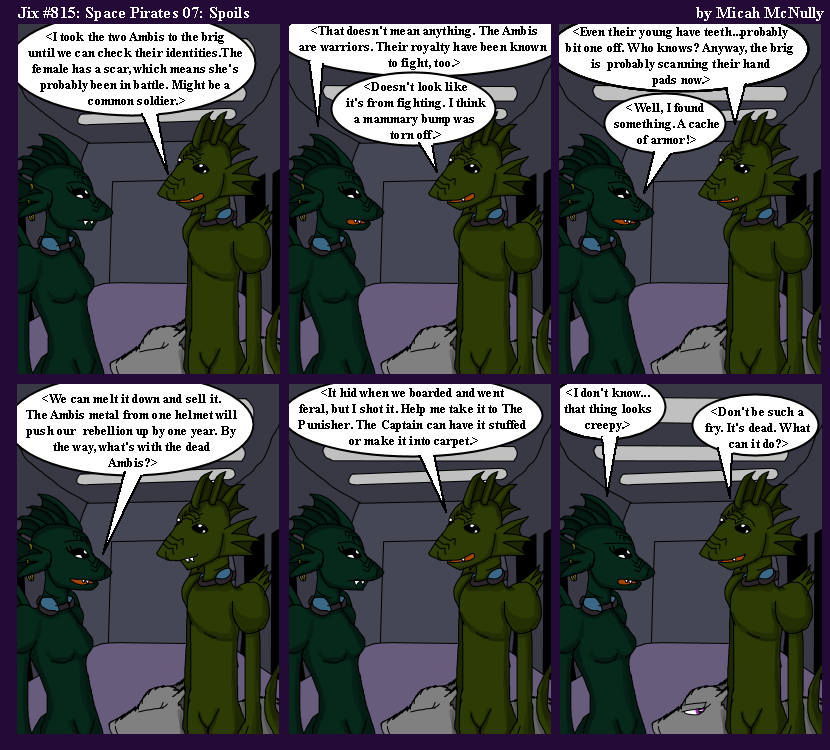 815. Space Pirate 07: Spoils