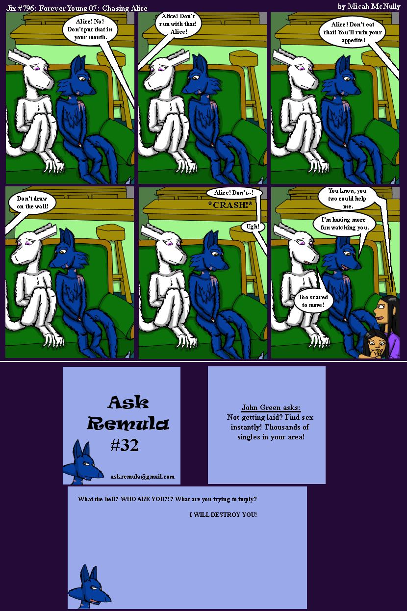 796. Forever Young 07: Chasing Alice (With Ask Remula #32)