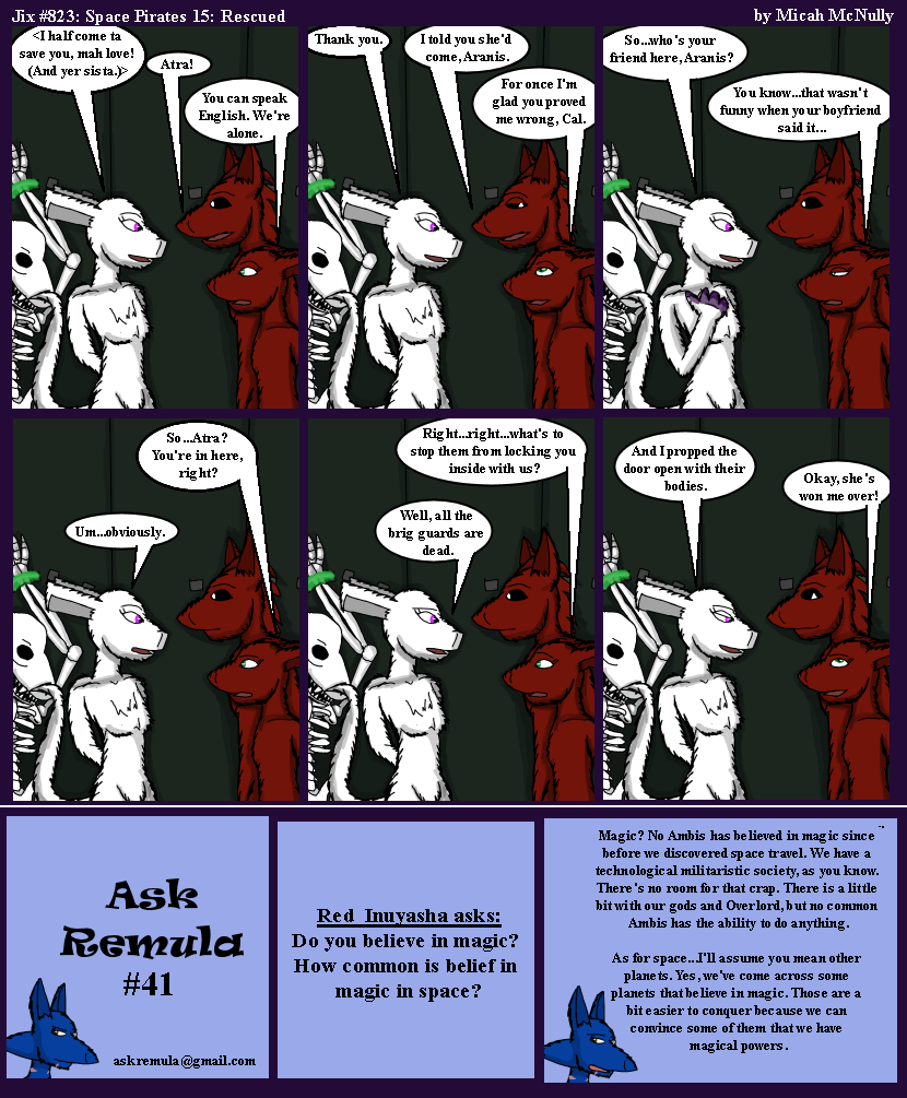 823. Space Pirates 15: Rescued (With Ask Remula 41)