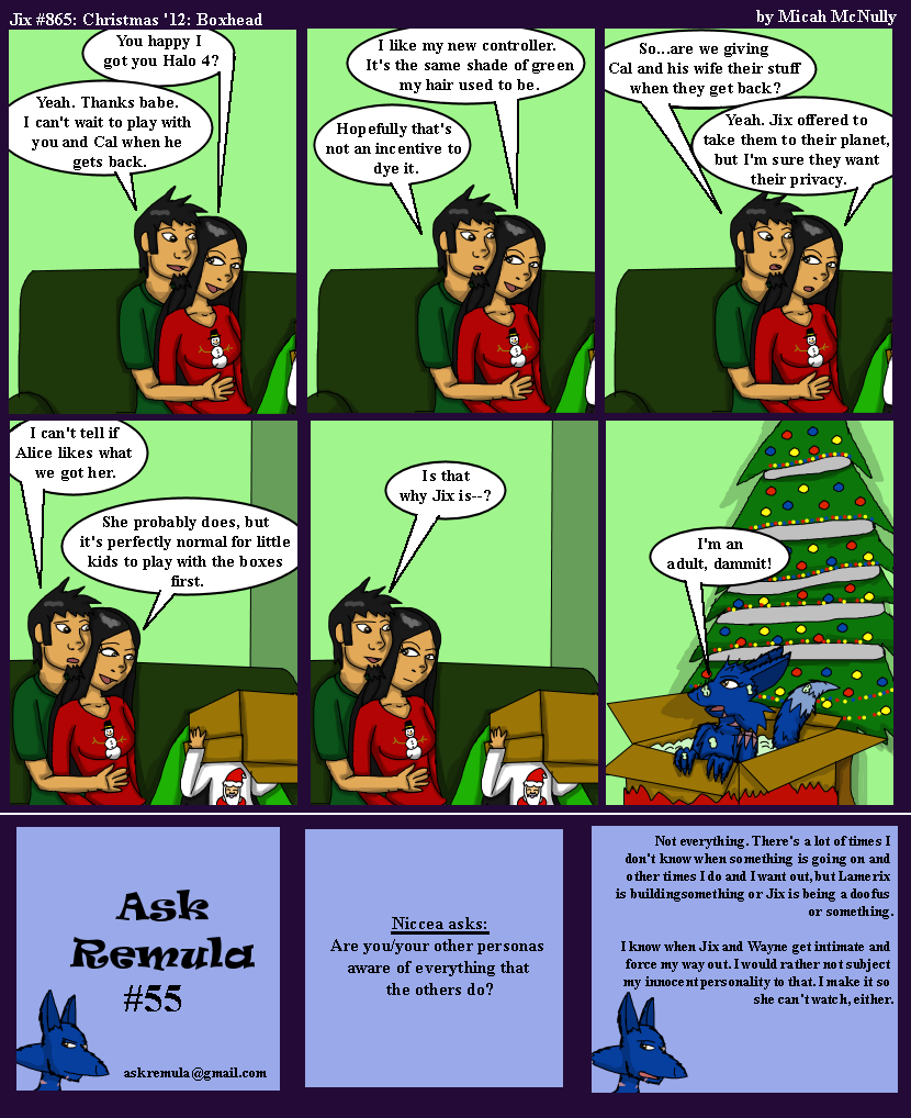 865. Christmas '12: Boxhead (With Ask Remula 55)