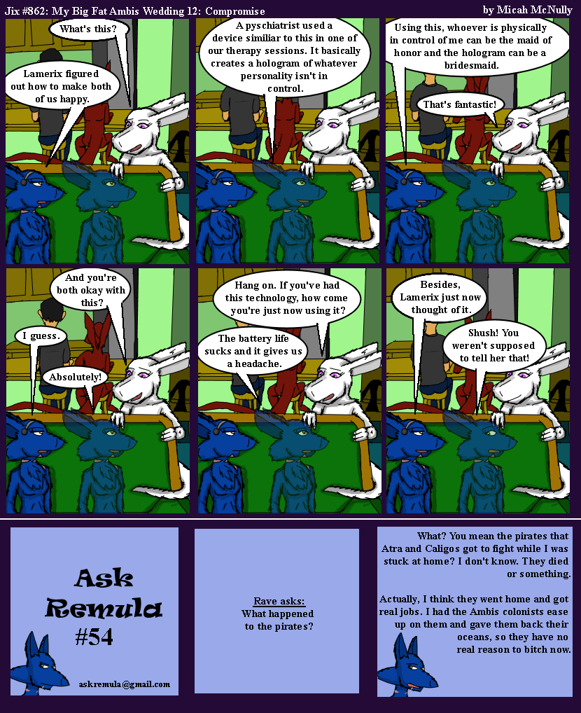 862. My Big Fat Ambis Wedding 12: Compromise (With Ask Remula #54)