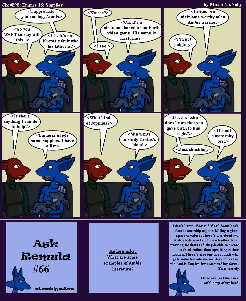 898. Empire 16. Supplies (With Ask Remula #66)