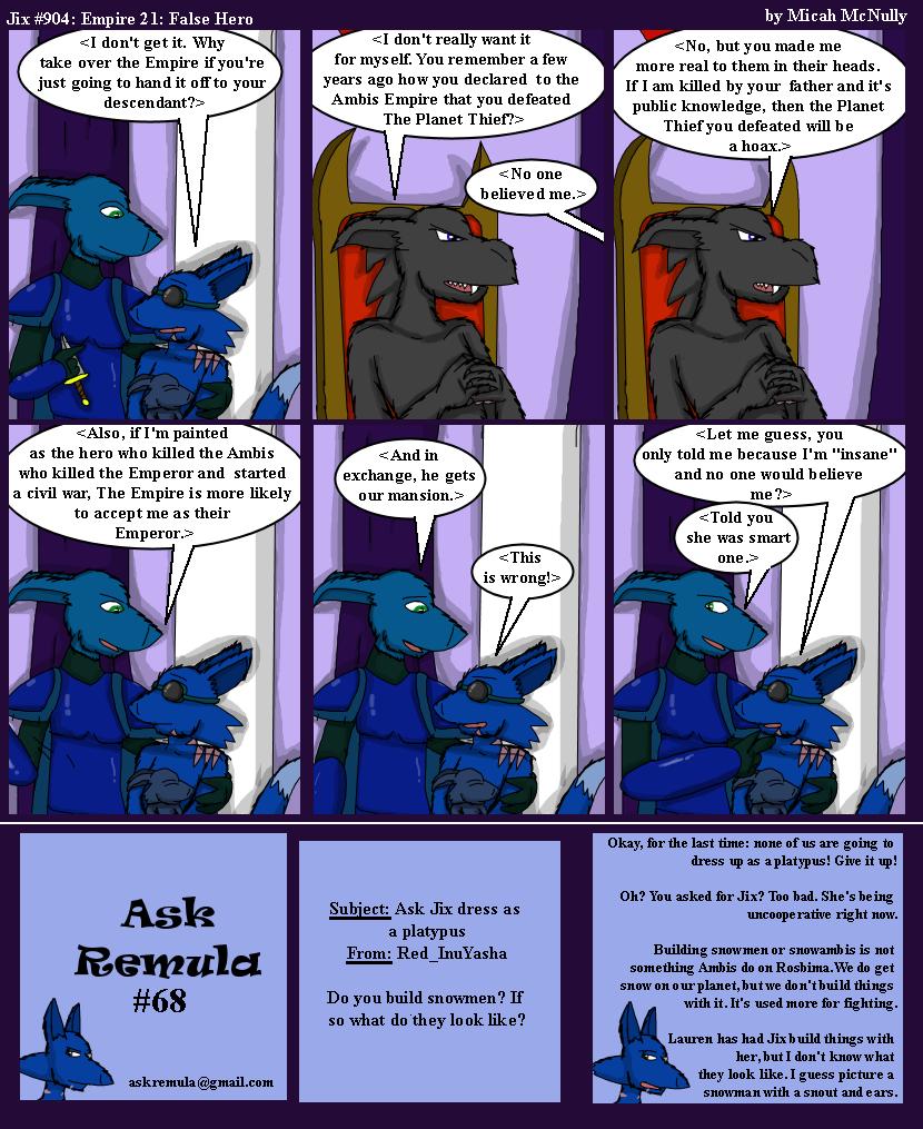 904. Empire 21: False Hero (With Ask Remula #68)
