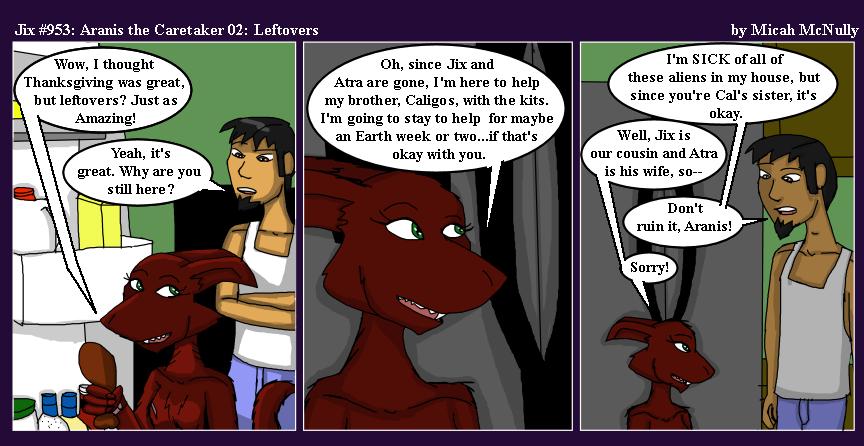 953. Aranis the Caretaker 02: Leftovers